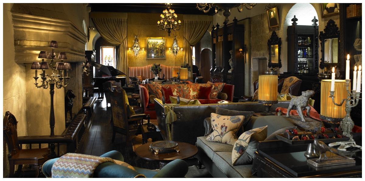 Castle Interior Design borthwick castle honoured with top interior design award
